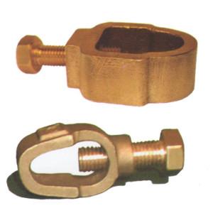 کلمپ انگشتی ارت - کلمپ اتصال سیم به میله ارت - ناب صنعت بارثاوا